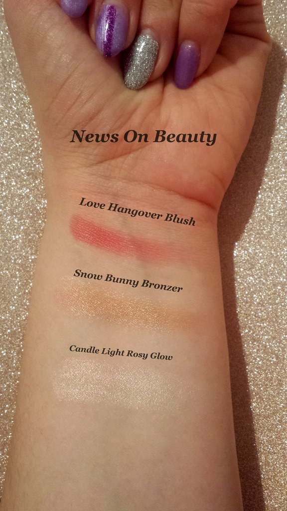 Swatch Too Faced Let it Glow
