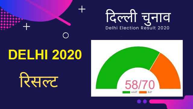 Delhi election Result 2020 live