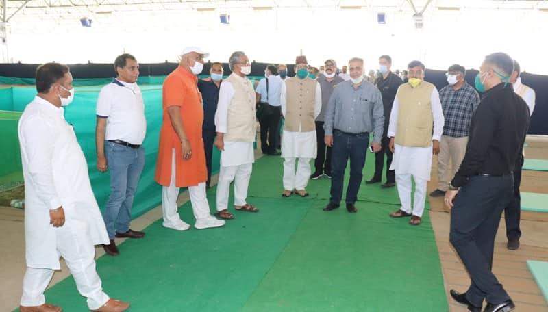 मुख्यमंत्री रावत उधम सिंह नगर में | CM Uttarakhand in Rudrapur