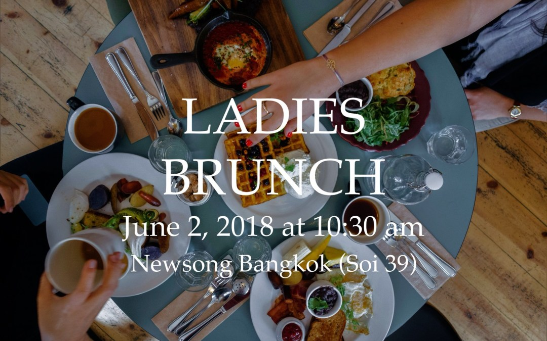 Ladies Brunch – June 2, 2018