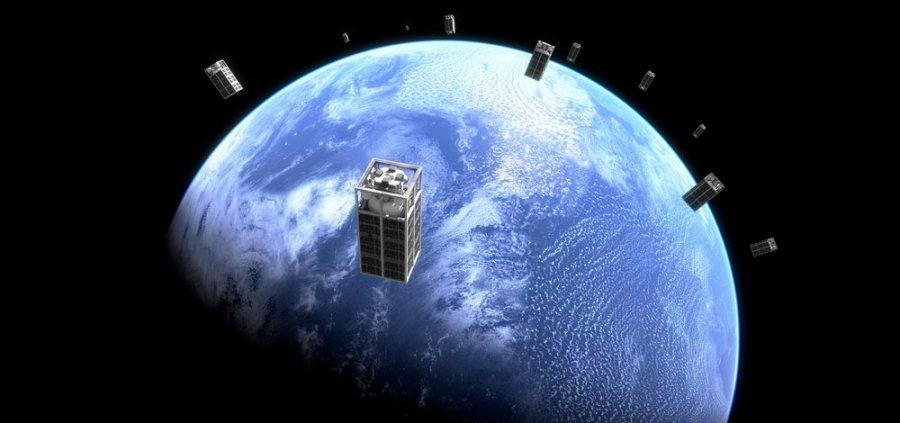 Global array of satellite tankers