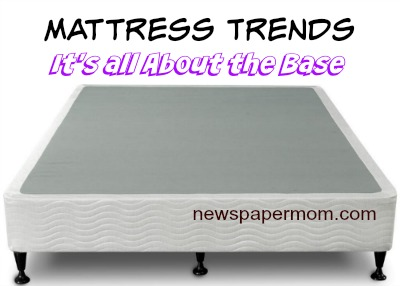 Mattress Trends: It's All About the Base