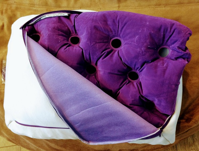 purple pillows sleep on one at home with purple s 100 night trial