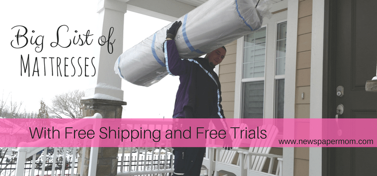 BIG Guide to Bed in a Box Mattresses With Free Shipping and Trials