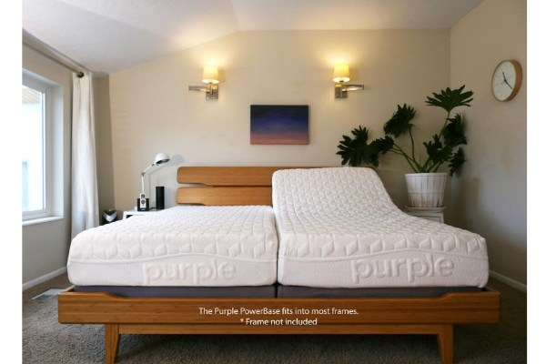 Purple Introduces New Powerbase High Tech Adjustable Bed