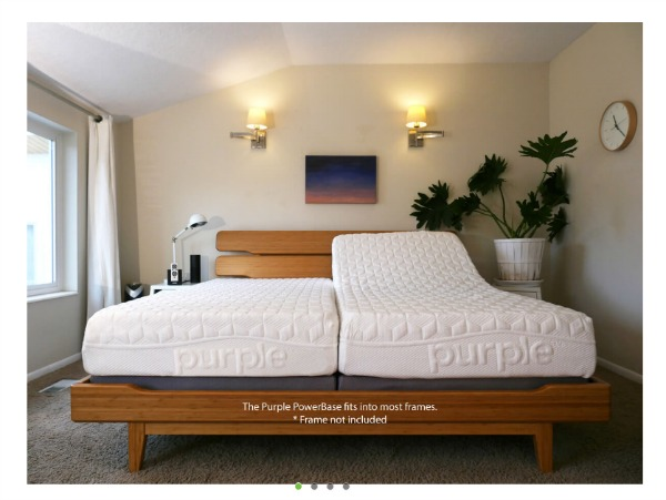 Purple Adjustable Bed Platform