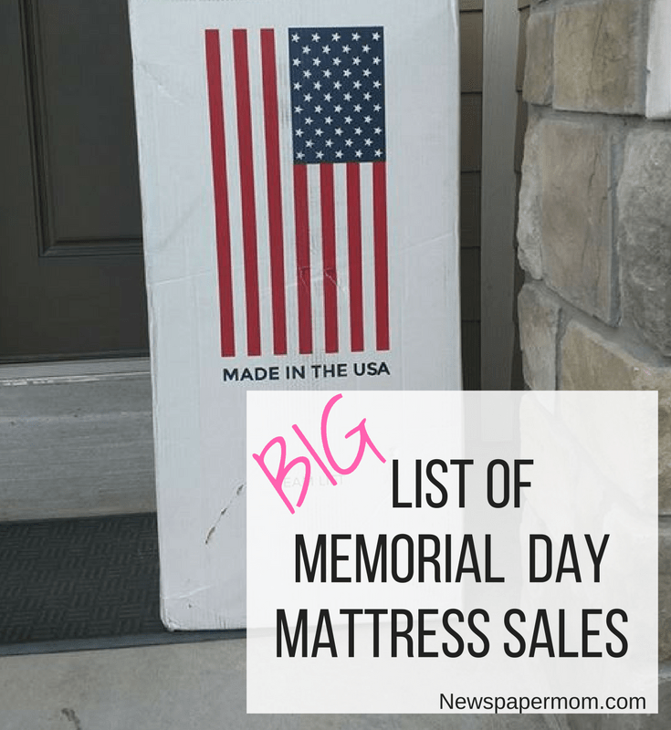 Memorial Day weekend is the time to kick off summer. But did you know that it's also one of the best times of the year to buy a new bed? There are a few times each year when mattress retailers roll out really steep discounts.