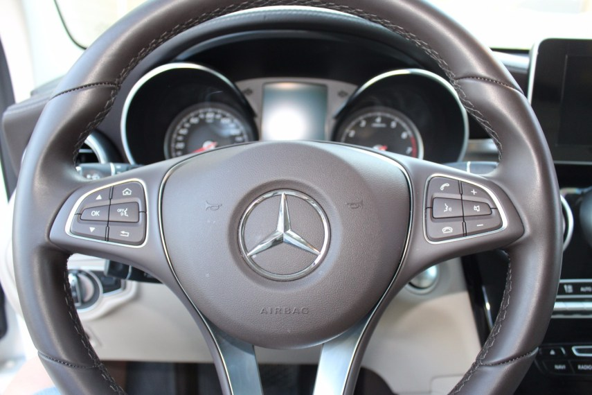 GLC steering wheel