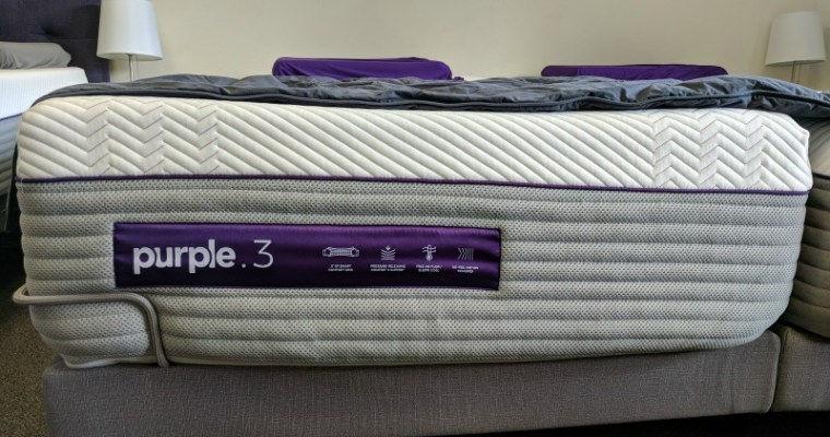 The New Purple Mattress Comes with More Gel, Springs