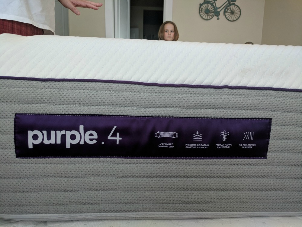 new Purple 4 mattress