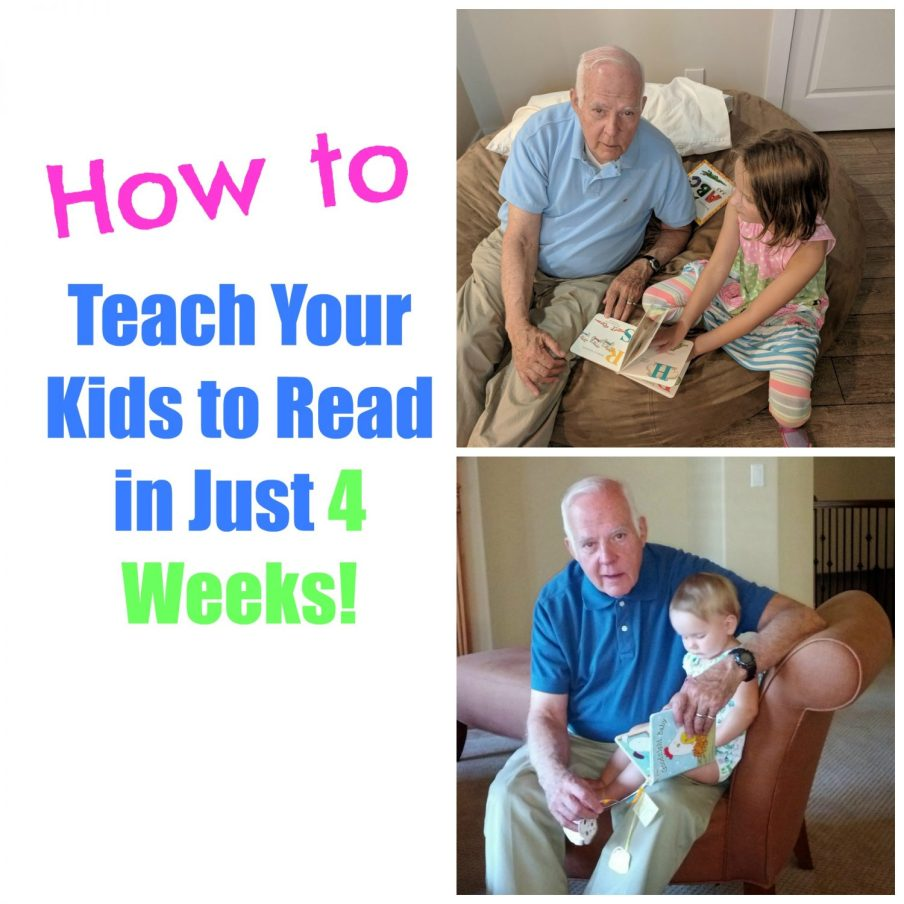 teach 5 year old to read