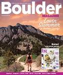 Boulder magazine in Colorado