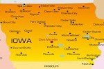 Iowa of Map