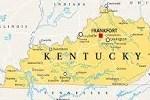 Kentucky of Map
