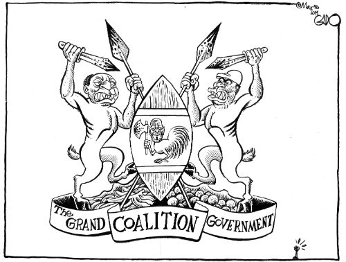 Image result for coalition government cartoon