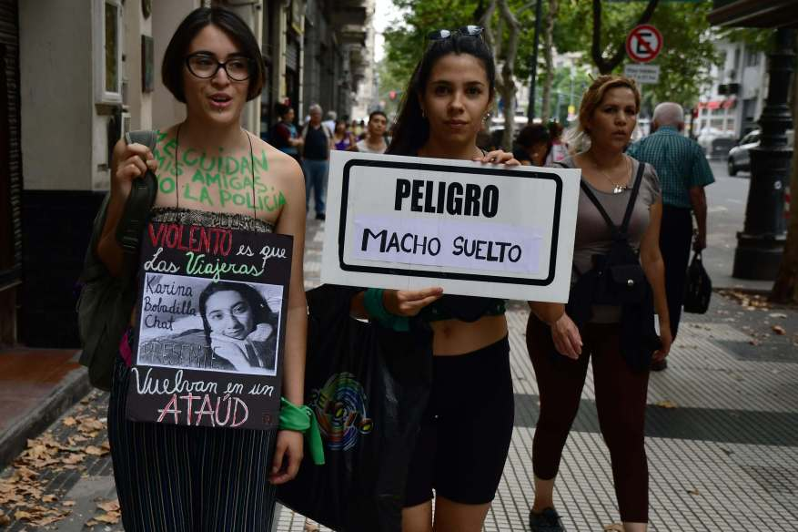 The end of femicides is the main claim of the march (Photo: Télam)