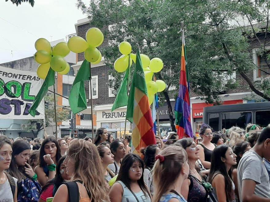 During Monday and Tuesday they demonstrated against abuses and gender inequality. (Photo: TN.com.ar)