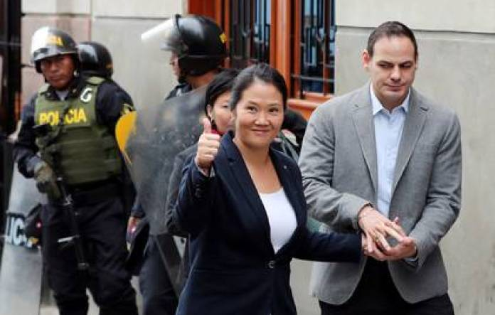 Keiko Fujimori (REUTERS / Mariana Bazo)