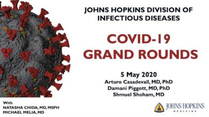 The cover of the virtual paper presented by doctors and scientists from Johns Hopkins University