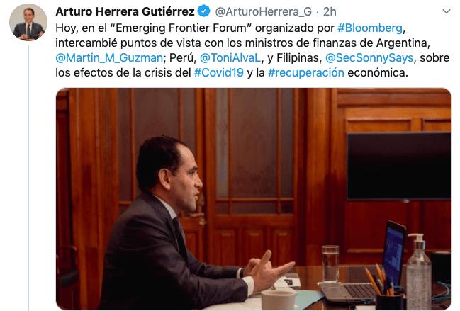 arturo herrera tweet reunion1