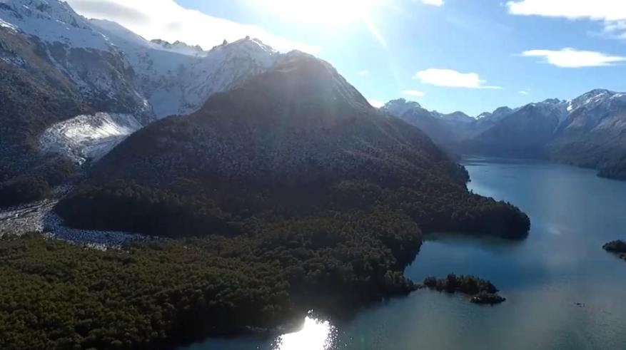In Los Alerces National Park fishing was enabled throughout the year. (Photo: video capture)