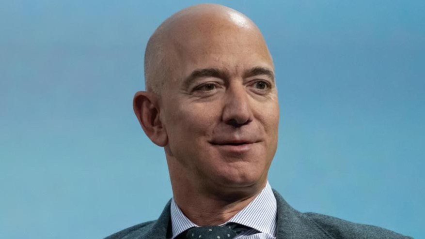 Jeff Bezos studied at Princeton University and worked on Wall Street before founding Amazon.