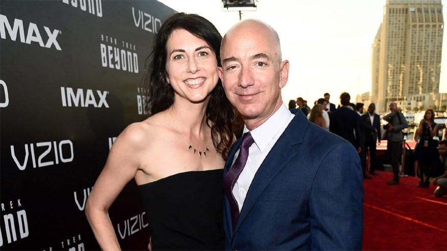 Jeff Bezos separated from his wife MacKenzie in 2019 in a millionaire divorce