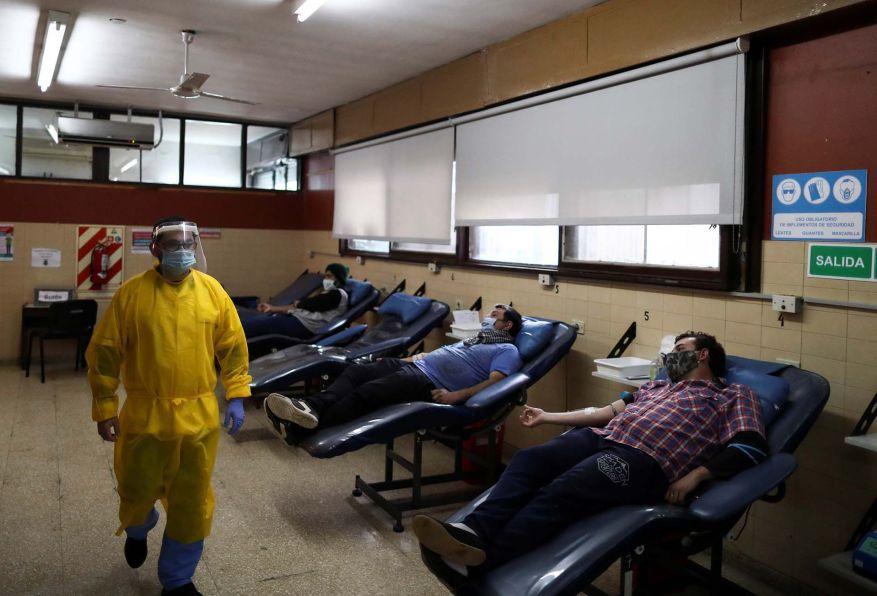Hospitals Coronavirus argentina efe