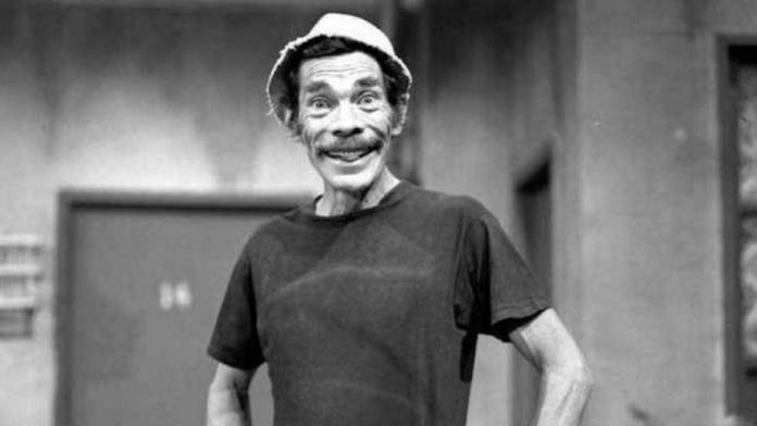 Don Ramón on the set where El Chavo del 8 was filmed