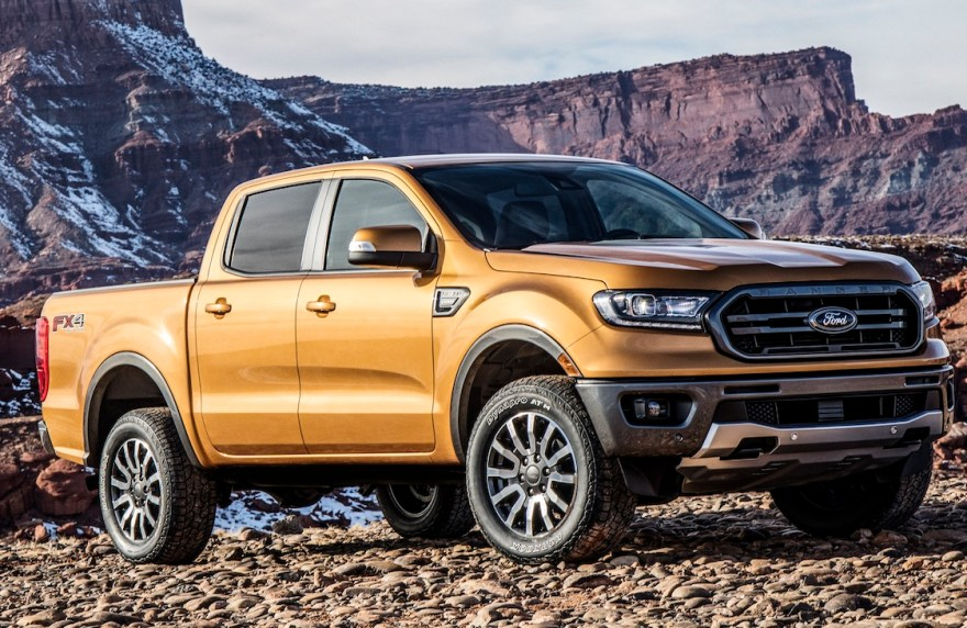 Ford Ranger, the pick up is the third in its category.
