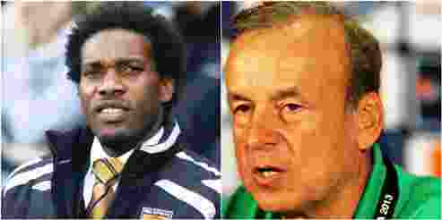 Russia 2018: Rohr Fires Back As Okocha Criticizes 4-2-3-1 Formation