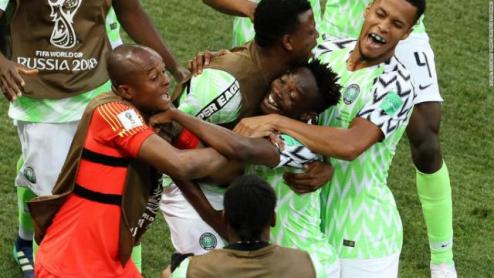Nigeria Beats Iceland To Revive World Cup Hopes