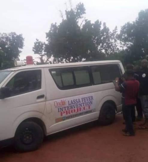Gunmen Ambush Lasser Fever Ambulance, Abduct Occupants, Kill Two