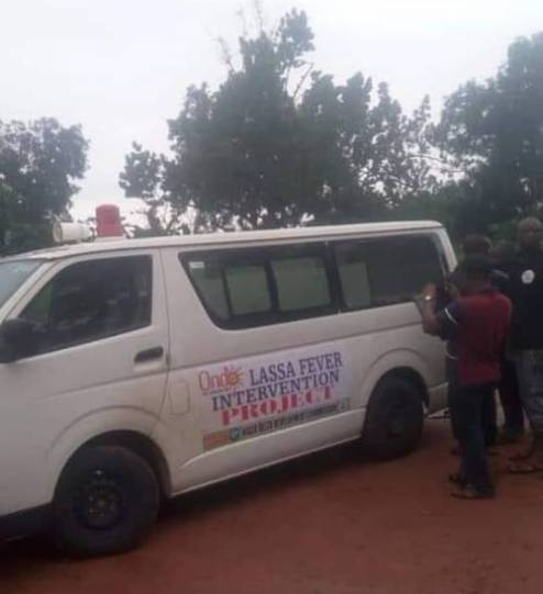 Gunmen Ambush Lasser Fever Ambulance, Abduct Occupants, Kill Two