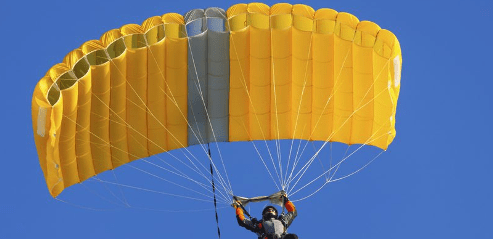 Man Falls To Death As Parachute Fails To Open When He Jumped Out Of A Plane