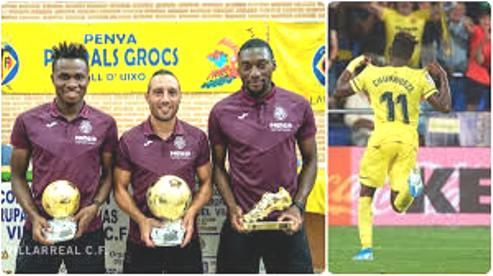 Super Eagles Winger,  Chukwueze Wins Prestigious  Spanish League Award