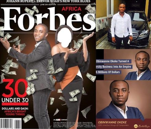 FBI Nabs Forbes' Celebrated Nigerian Under 30 Billionaire, Okeke Over Attempted $12m Fraud
