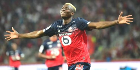 Super Eagles Striker, Osimhen Top Of Barcelona Shopping List