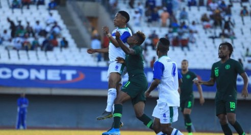 AFCON 2021 Qualifiers: Nigeria Fight Back To Beat Lesotho 4-2