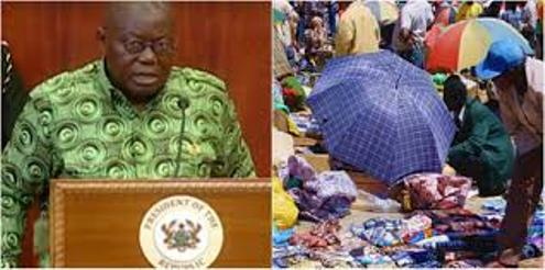 President Akuffo-Addo  Supports Ban On Nigeria Traders In Ghana