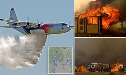 Plane Fighting Australia Wildfire Crashes, Killing All Passengers