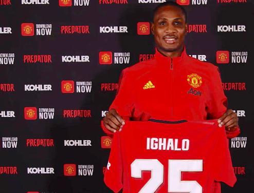 Nigeria Football Star, Ighalo Misses Goal As Manchester United Thrash Watford 3-0