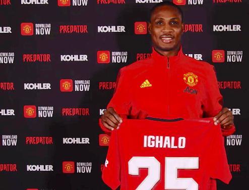 Nigeria Football Star, Ighalo Misses Goal As Manchester United Thrash Watford 3-0