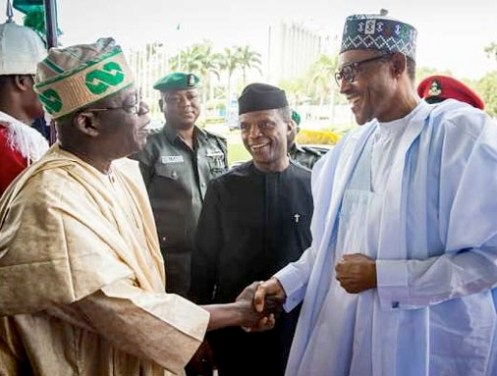 Tinubu Advises Buhari  To Print More Naira Notes To Caution Economic Effect Of Coronavirus