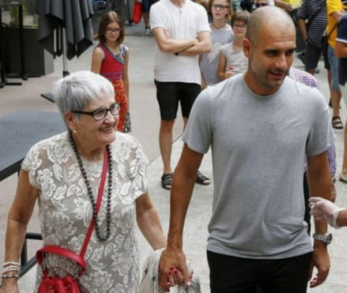 Coronavirus Kills Manchester City, Manager Pep Guardiola's Mother