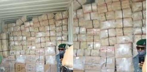 Lagos Police Intercept 40-Foot Container Loaded With Tramadol, Codeine