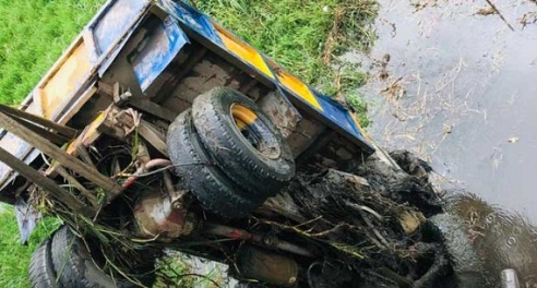 Lagos: Three Feared Dead As Truck Plunges Into Epe River Off Berger Bridge