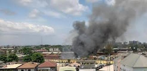 #EndSARS: Ikoyi Prison On Fire As Army, Police Foil Attempted Jail Break