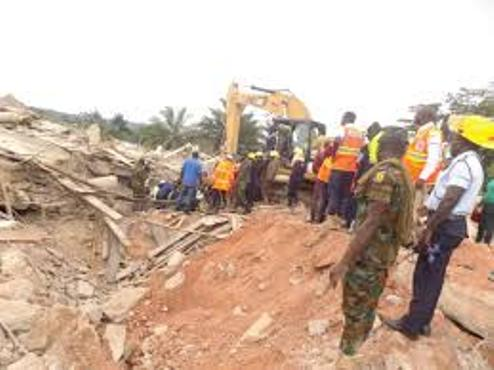17 Feared Dead, Scores Trapped In Ghana Church Collapse