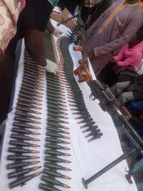 Police Nab Arms Dealer  Who Confessed To Have Sold Over 10,000  Arms, Ammunitions To Bandits